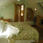 Master bedroom in cottage