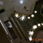 Fountain in the atrium