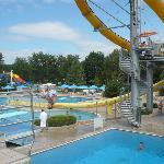 vue piscine exterieur