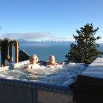 Hot tub with million dollar view