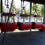 Tram at Lutsen near Eagles Ridge