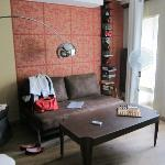 """Loft"" stylish sitting area"