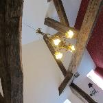 """""""Suite"""" exposed beams in the ceiling"""