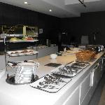 Sotto Restaurant breakfast area.