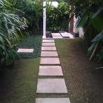 Entry to villa
