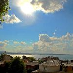 rooftop view of the Bosporus