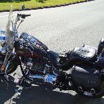 The beautiful Harley Davidson bike!