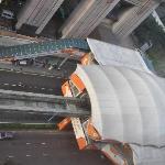 """station de monorail """"Imbi"""" juste en dessous"""