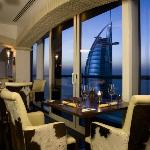 La Parrilla views of Burj Al Arab