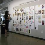 Great design work at the Student Exhibition Opening.