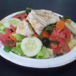 Garden Salad w/ Grilled Chicken