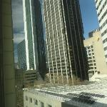 View from Holiday Inn room.