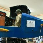 A WWII Link Trainer Flight Simulator