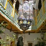 """Riad """"lobby"""" view"""