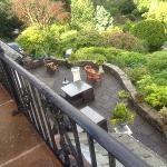stunning gardens - view from balcony