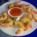 Crunchy & delicious fried prawns