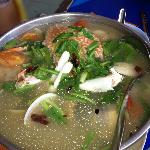 Delicious spicy crab & seafood soup