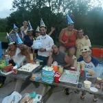 My Husbands Birthday with our Best Friends... =)