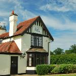 The Cottage Inn from the garden