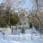 Villa Massawippi in winter