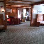 Foyer and sitting room of Franconia Inn