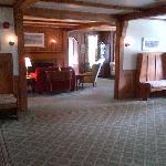 Foyer and sitting room of Franconia Inn