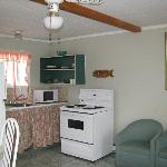 Kitchen area for a 2-bedroom