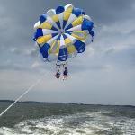 parasailing take off!
