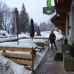 Entrada do Hotel em Chamonix