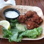 Conch fritters at The Keys 7/22/12