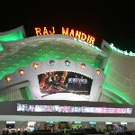 Front of Raj Mandir