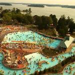 Wave Pool and Lazy River at Nashville Shores