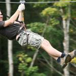 Treetop Adventure Park Zip Line