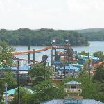 Nashville Shores Waterpark with Percy Priest Lake