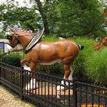 Full size replica of clydesdale