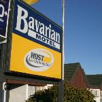 Bavarian Motel Sign