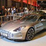 Aston Martin at Auto Show