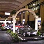 Triumph Classic Cars at Auto Show