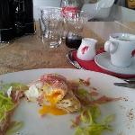 Breakfast: Bizant Egg.