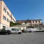 Hotel Sanremo Vista laterale dal piazzale