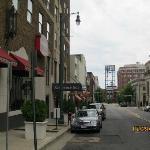 Front door of Residence Inn Downtown Memphis