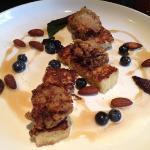 fried chicken livers with brioche - amazing!