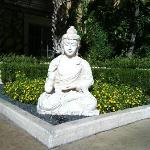 one of the gardens at the Za