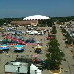 Dade County Fair view from 7th floor