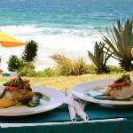Apresentação dos pratos - Rocka Beach Lounge