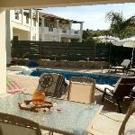 Villa Katerina, pool area