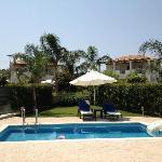 Villa Aggeliki, pool area
