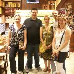 With our tour guide & the spice expert.
