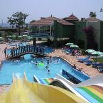 Green Garden water slides