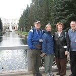 St Petersburg Tours - Central fountains in Peterhof